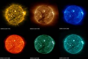 Images of the Sun From the GOES-16 Satellite | NASA