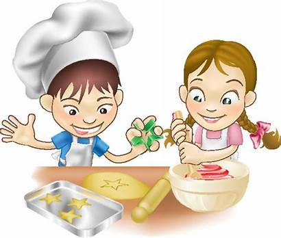 Children Cooking Child Teacher Perspective Rambling Put