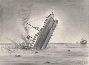 Drawing of Titanic Sinking | MediaShow!ro | MediaShow!ro ...