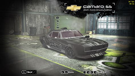 speed  wanted chevrolet camaro ss  sal