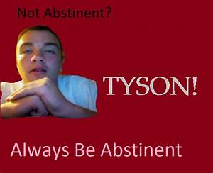 Posters to Promote Abstinence