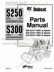 Download Bobcat S250  S300 Turbo Parts Diagram Manual Pdf