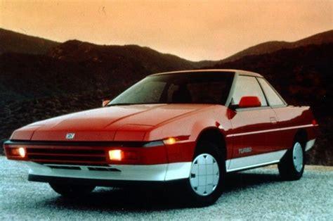 1980s Sports Cars by Lost Cars Of The 1980s Subaru Xt Subaru Xt Subaru And