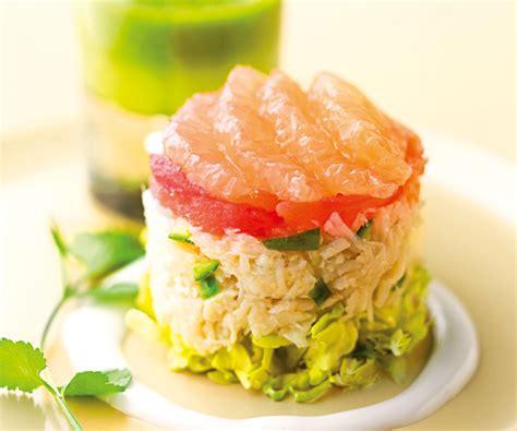 cuisine vert olive recette avec astuce de lignac timbale de crabe au