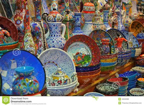 turkish souvenirs istanbul ceramic turkey s for porcelain souvenirs of istanbul grand bazaar stock photo image of gifts herbs 40632686