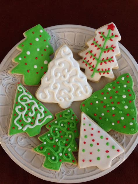 christmas tree sugar cookies christmas food pinterest