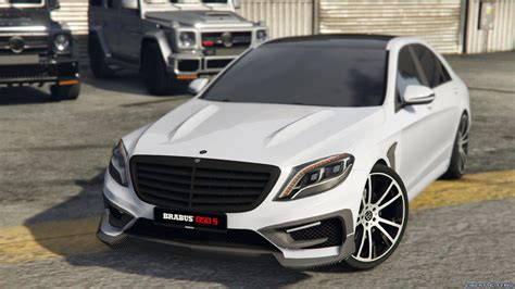 Mercedes-benz Brabus 850 S-class [replace] 1.0 For Gta 5