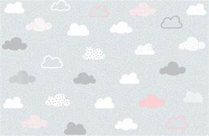 Grey Pattern Wallpaper Pink And Grey Clouds Pattern