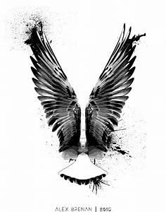 Falcon Tattoo Commission by IAmNoBro on DeviantArt
