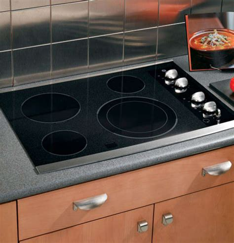 ge jpsmss   smoothtop electric cooktop   ribbon elements   dual element