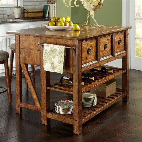 southern pines loblolly kitchen island klaussner