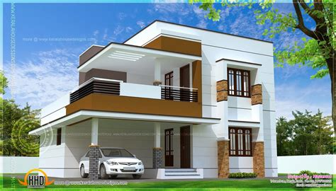 2 Simple Modern Homes With Simple Modern Furnishings by Modern Luxury House With Cellar Floor House Plans