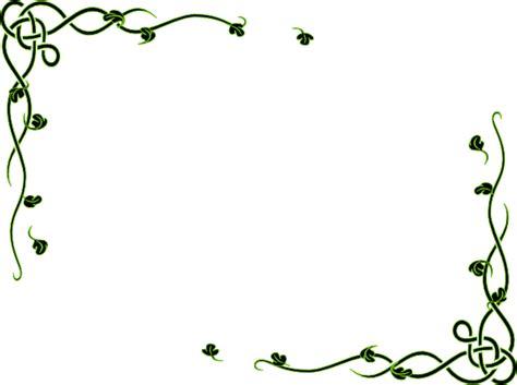 leafy frame dor clip art  clkercom vector clip art