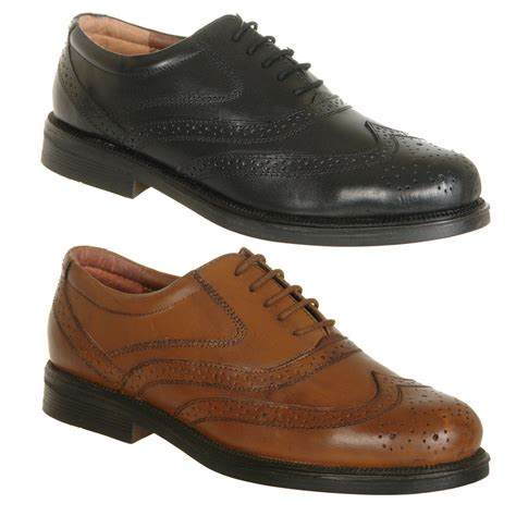 Mens Shoes by Mens Shoes Leather Brogues Size 6 7 8 9 10 11 12 13 14 Ebay