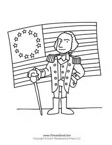 coloring page of george washington and the cherry tree gallery