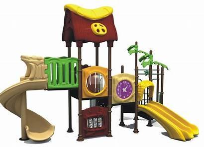 Playground Clipart Clip Equipment Vector Kindergarten Playing