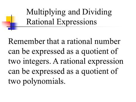 Simplifying Rational Expressions  Ppt Video Online Download