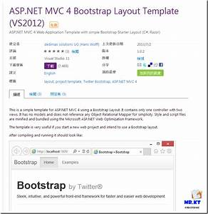 Mrkt aspnet mvc 4 bootstrap layout template for Asp net mvc 4 bootstrap layout template