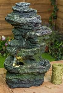 Tischbrunnen Mit Beleuchtung : ambient bepflanzbarer tischbrunnen conway falls mit led beleuchtung 59 99 ~ Orissabook.com Haus und Dekorationen