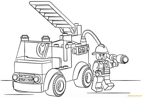 disegni da colorare camion dei pompieri disegno di camion dei pompieri da colorare per bambini