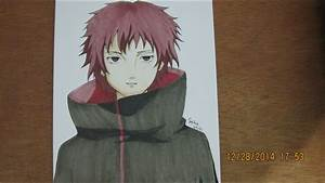 Naruto Shippuden- Drawing And Coloring Sasori