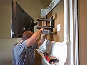 How to Build a TV Wall Mount Frame how-tos DIY