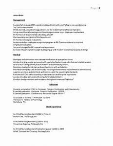 james binder resume With resume binder