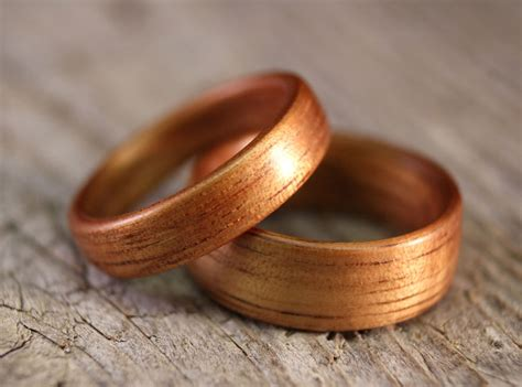 wooden wedding ring stout woodworks handcrafted wooden rings 1492