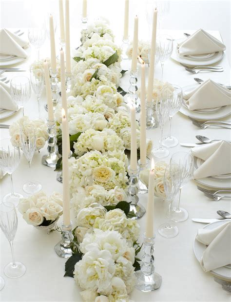 white flower table l j f floral couture inspired by vera wang weddings a