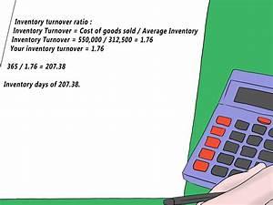 Lagerumschlagshäufigkeit Berechnen : tage im inventar berechnen wikihow ~ Themetempest.com Abrechnung