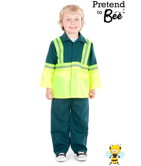 seedling crafts childrens paramedic costume age 3 7 years pretend to bee