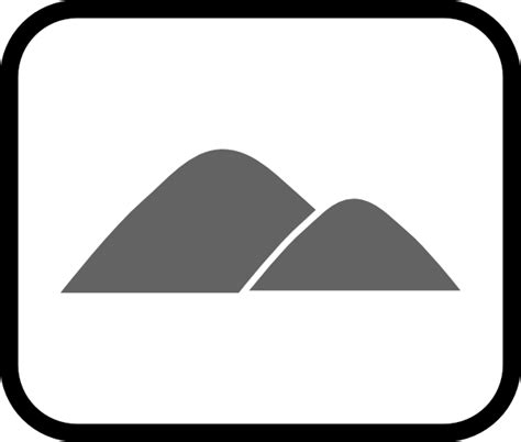 icon land land fill icon clip art at clker com vector clip art