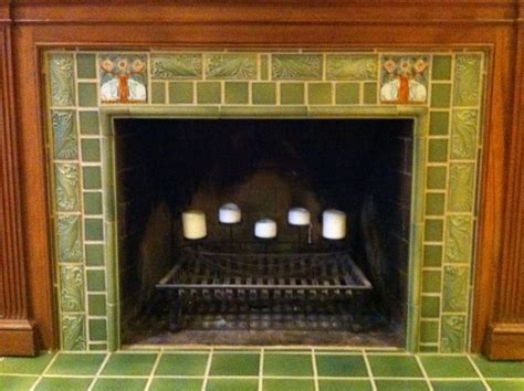 rookwood pottery tile co fireplace pottery