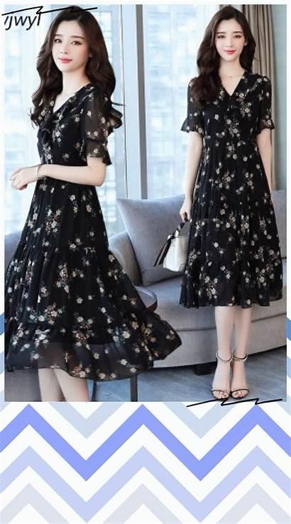 Short Sundress Dresses Elegant Boho Midi Casual