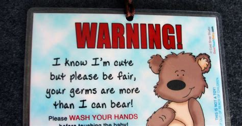 car seat signs  cold snap studio wash  hands