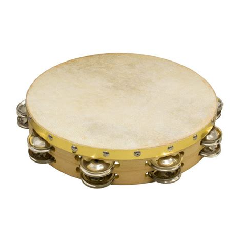 """Tambourines are often used with regular percussion sets. Weiss Brand 10"""" Double Row Tambourine   Tambourines ..."""