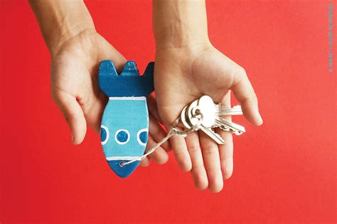 un porte clef pour papa bubblemag