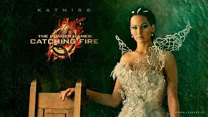 Hunger Games Katniss Fire Catching 1080 Wallpapers