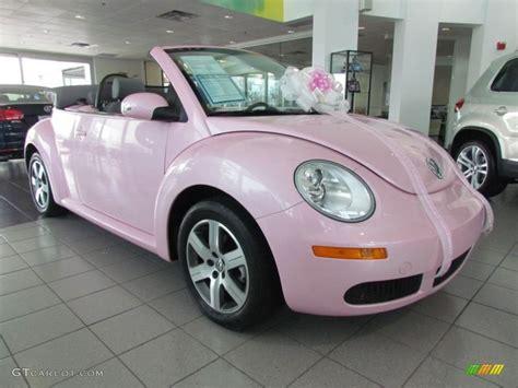 beetle  convertible custom pink grey photo