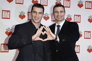 Wladimir Klitschko and Vitali Klitschko Photos Photos ...