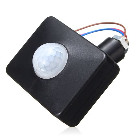 Led Infrared Pir Motion Sensor Detector Outdoor