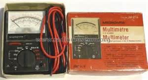 Micronta Multimeter 22