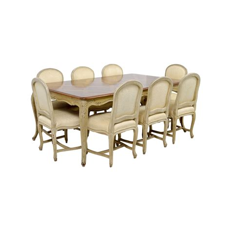 76 formal dining table with ten chairs tables