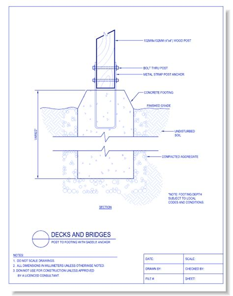 Boat Anchor Dwg by Decks And Bridges Caddetails Caddetails