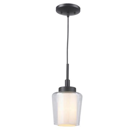 kitchen islands at home depot imports 1 light rubbed bronze mini pendant with