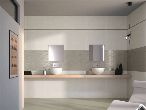 carrelage de salle de bain easy white silver porto venere
