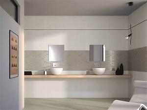 Ambiance Salle De Bain : carrelage de salle de bain easy white silver porto venere ~ Melissatoandfro.com Idées de Décoration