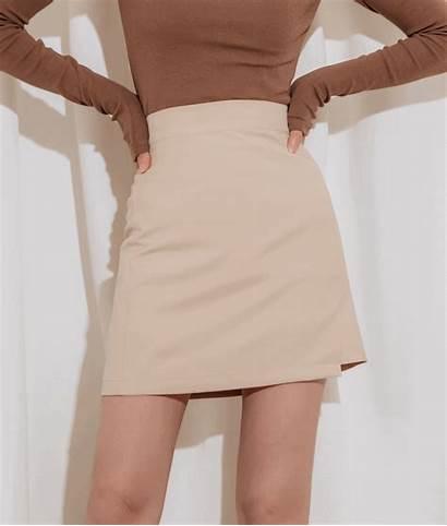 Skirt Skirts Waist Wrap Mixxmix Quick