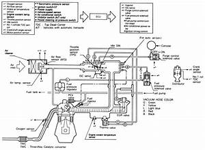 1990 Mitsubishi Fuel System Diagram
