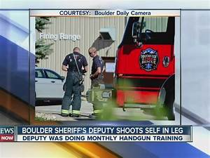 Boulder sheriff's official accidentally shoots self ...